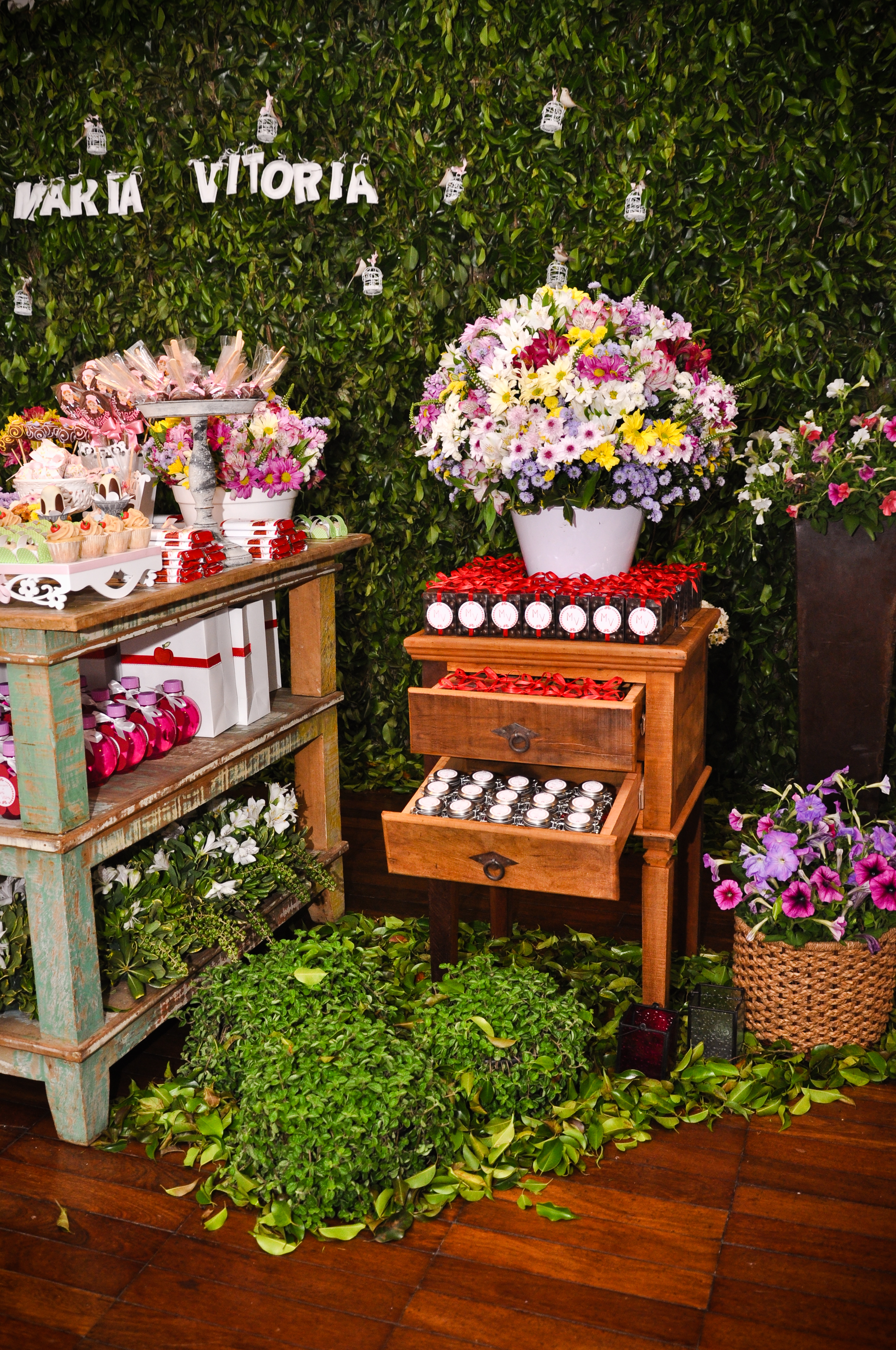decoracao jardim secreto:Festa Jardim Secreto